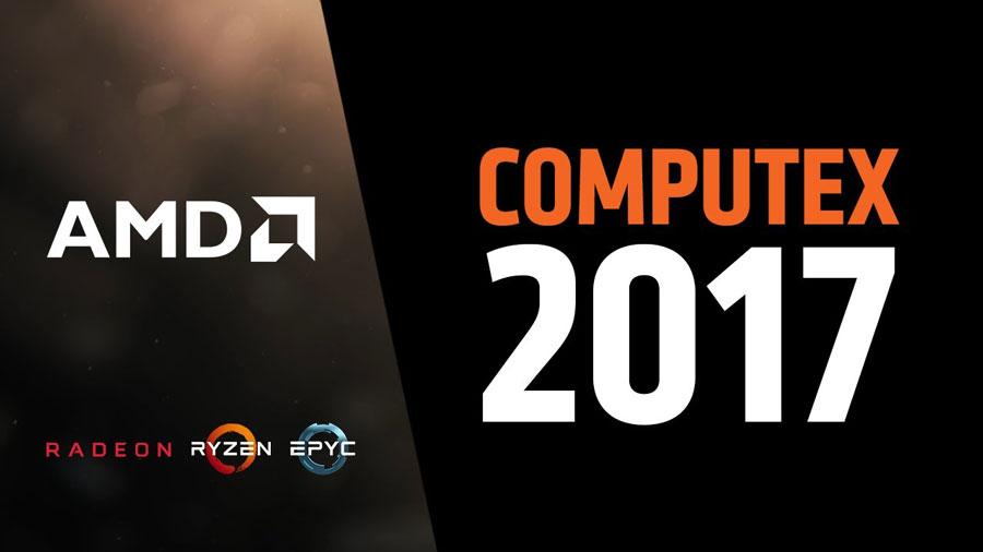 AMD Exhibits PC Innovation Leadership at Computex 2017