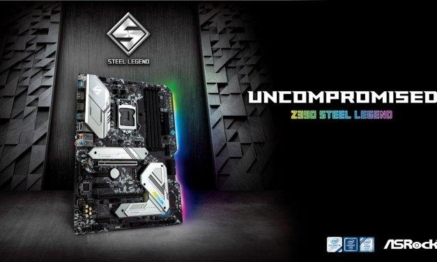 ASRock Launches Steel Legend Series Z390 Motherboard