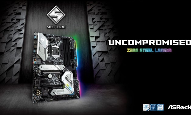 ASRock Launches Steel Legend Series Z390 Motherboard