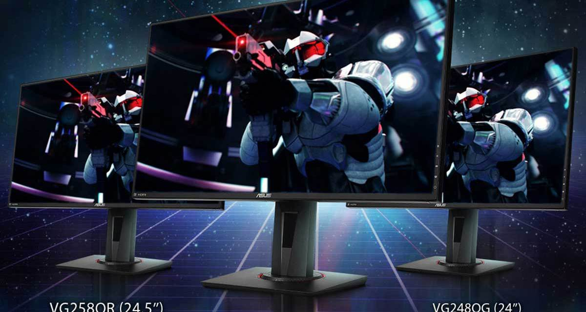 ASUS Announces New NVIDIA G-SYNC Compatible Gaming Monitors