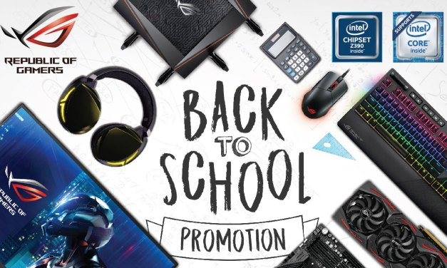 ASUS ROG Bundles Premium Items for Back-to-School Season of 2019