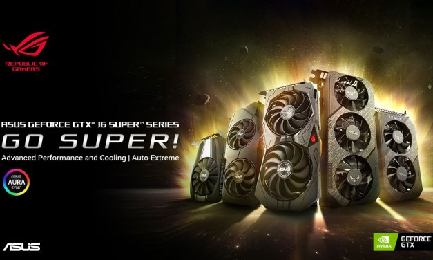 ASUS Announces GeForce GTX 1660 and 1650 SUPER