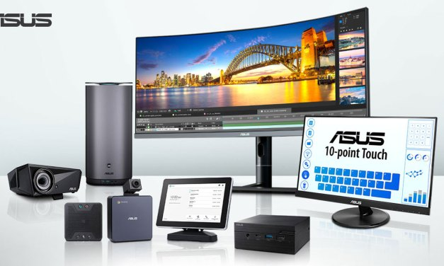 ASUS Showcases Content Creation and Commercial Solutions at ISE 2019