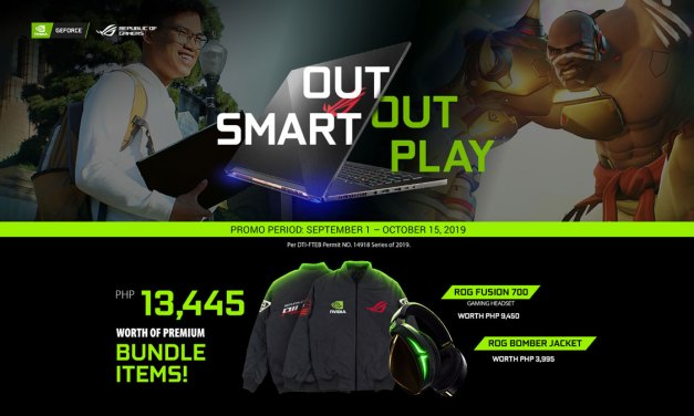 ASUS ROG x NVIDIA Releases Out Smart, Out Play Promo