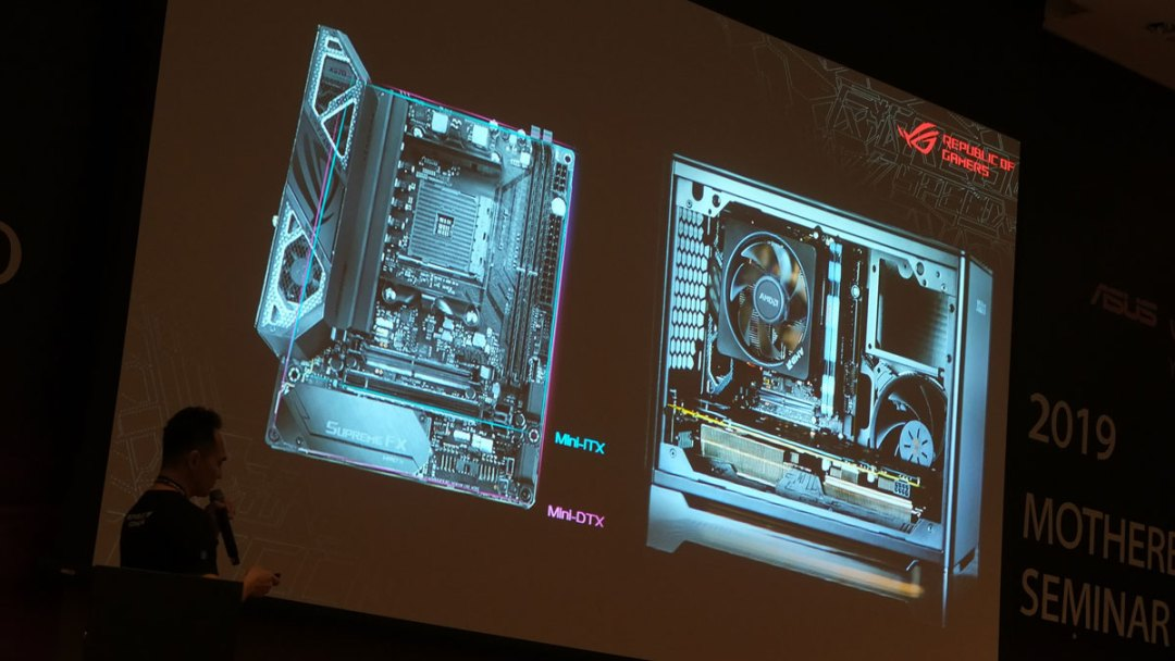 ASUS ROG Crosshair VIII Impact DTX Teaser (1)