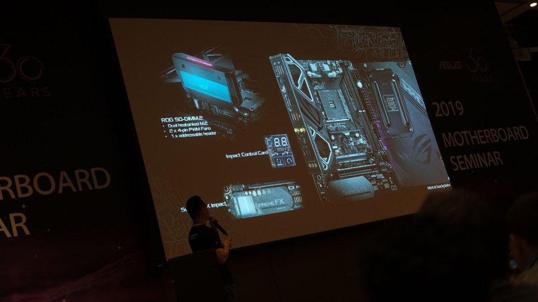 ASUS ROG Crosshair VIII Impact DTX Teaser (3)