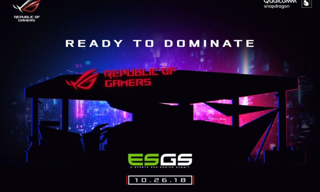 ASUS ROG Highlights Gaming Gears at ESGS 2018