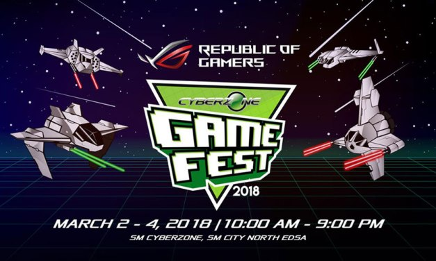 ASUS ROG Joins Game Fest 2018 With Exclusive Promo
