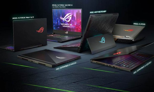 ASUS ROG Launches Nvidia GeForce RTX Laptops at CES 2019