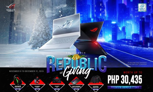 Get a Chance to Win Limited Edition ASUS ROG Gears with Share 2019 Promo