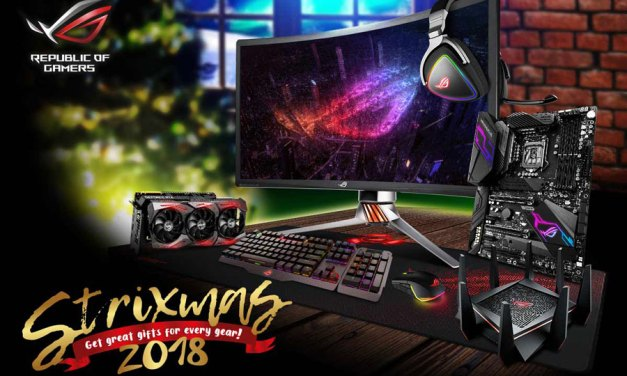 ASUS Republic of Gamers launches Strixmas 2018