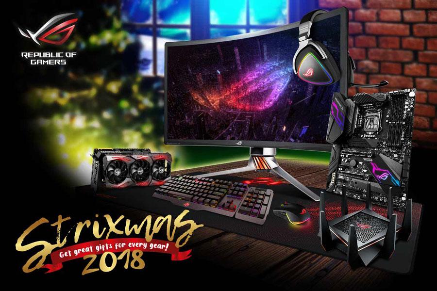ASUS Republic of Gamers launches Strixmas 2018