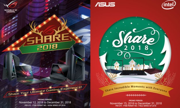 ASUS Announces Share 2018 Christmas Promo