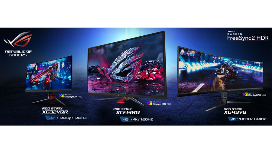 ASUS ROG Announces Strix XG HDR Gaming Monitor Lineup   TechPorn