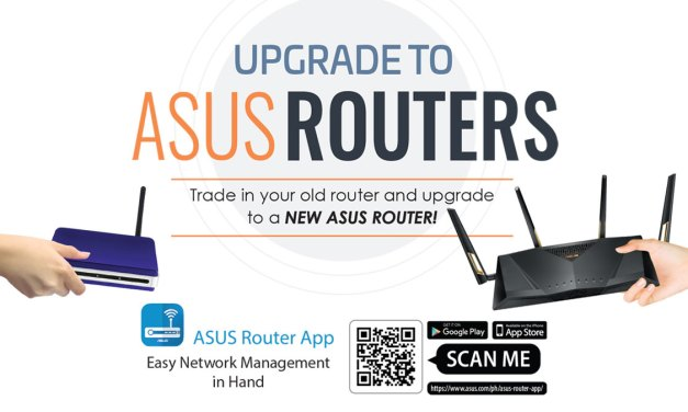 Trade up your Old Router with ASUS Routers Promo 2019