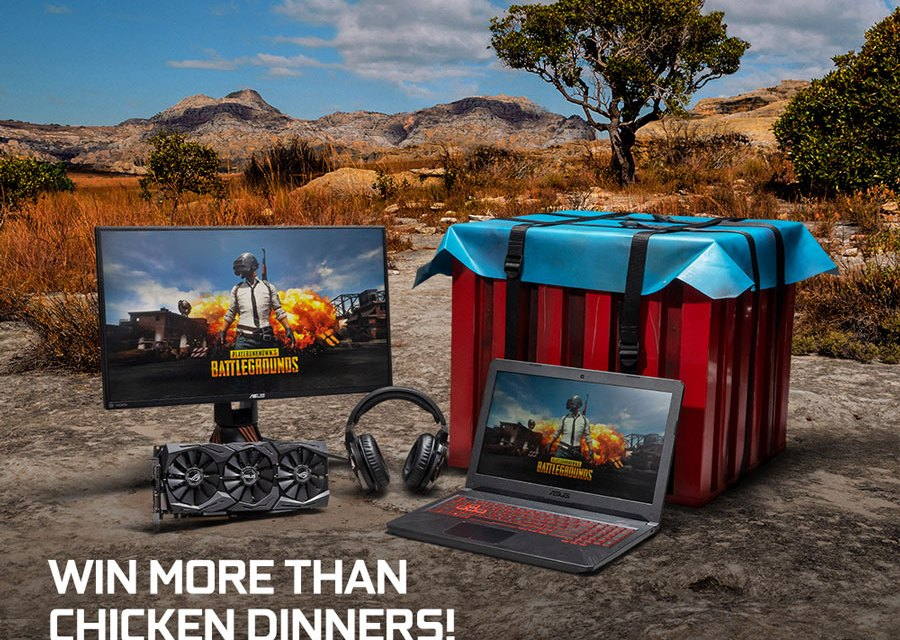 Buy ASUS GeForce GPU and Win Exclusive PUBG Loot Crate
