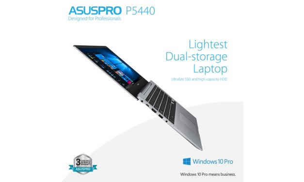 ASUS Releases ASUSPRO P5440 Business Class Laptop