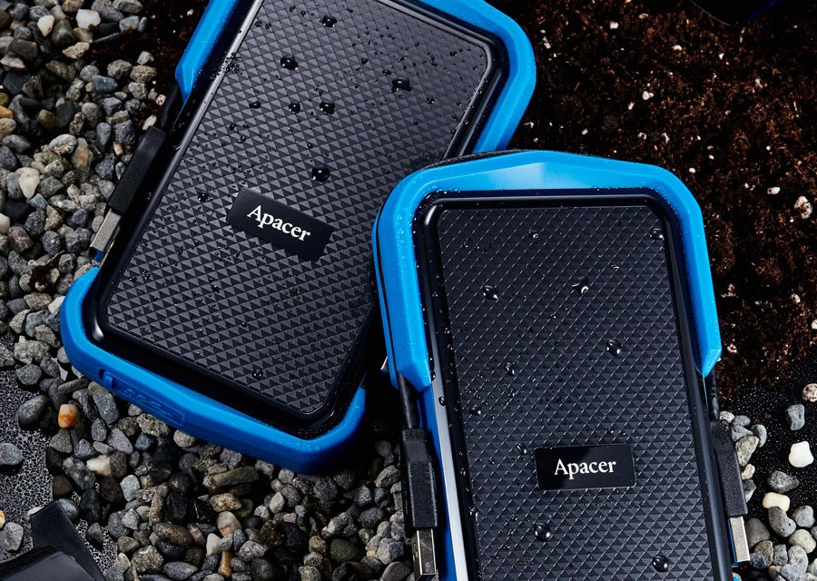 Apacer Intros Military-Grade AC631 Portable HDD