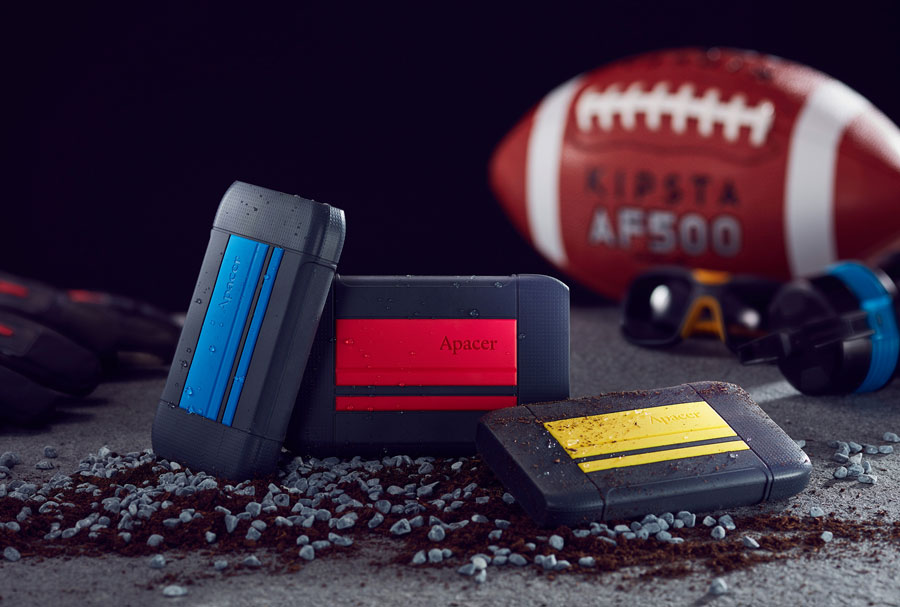 Apacer Releases AC633 MIL-SPEC Shockproof Portable HDD