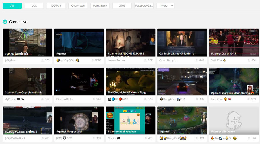 BIGO Live Goes After Gamers – Announces Platform For Live Streaming