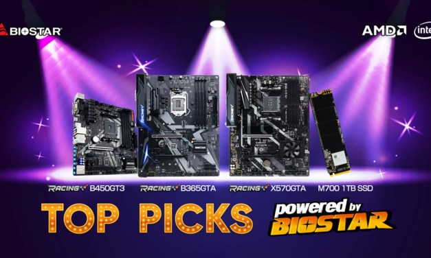 BIOSTAR Introduces 4 Top Picks for Your New PC Build In 2020