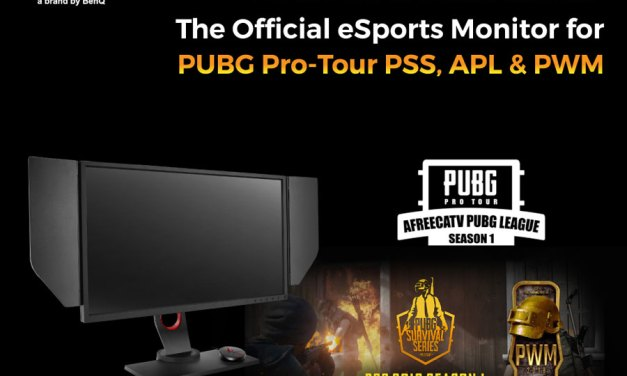BenQ ZOWIE XL Series is The Official Sponsor for PUBG Korea League 2018