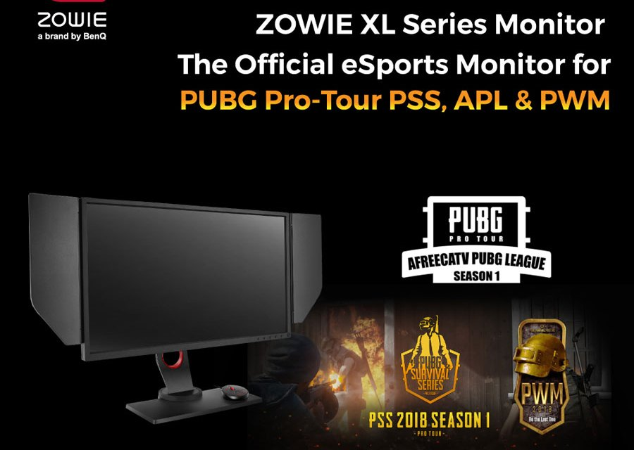 BenQ ZOWIE XL Series is The Official Sponsor for PUBG Korea League 2018