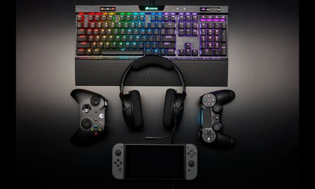 CORSAIR Launches HS35 Stereo Gaming Headset