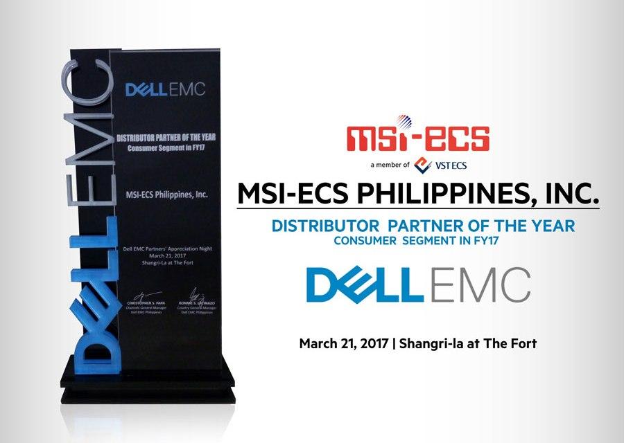 MSI-ECS Sweeps Dell EMC Awards