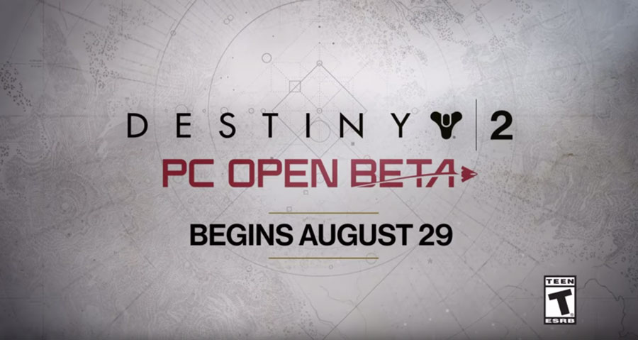 Nvidia Releases Destiny 2 PC Beta Footage at 4K 60FPS