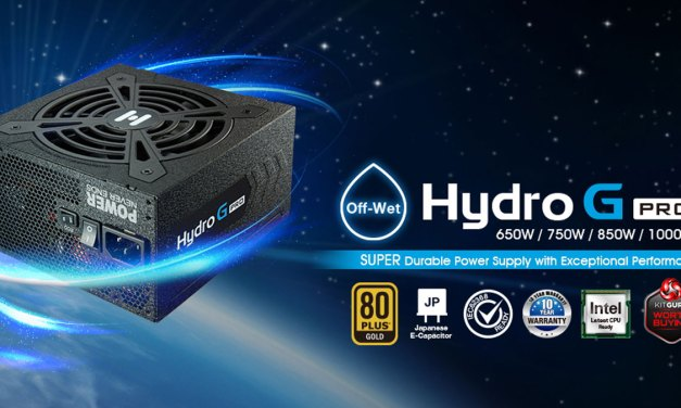 FSP Announces New Hydro G Pro Series PSU