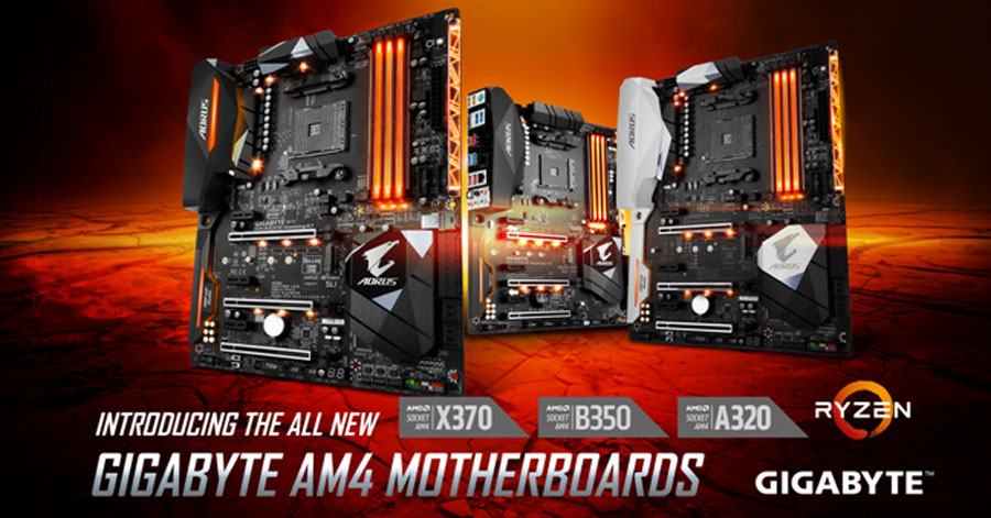GIGABYTE Launches The AORUS A320 Chipset Motherboards