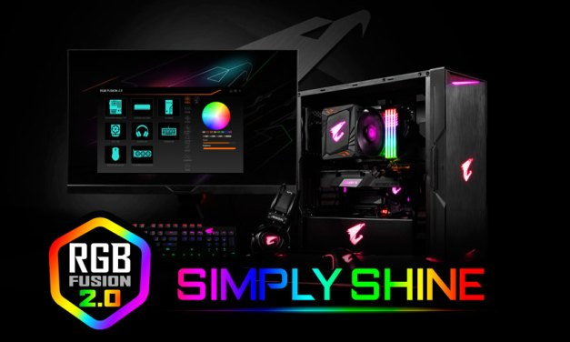 GIGABYTE Simplifies RGB Integration with RGB Fusion 2.0