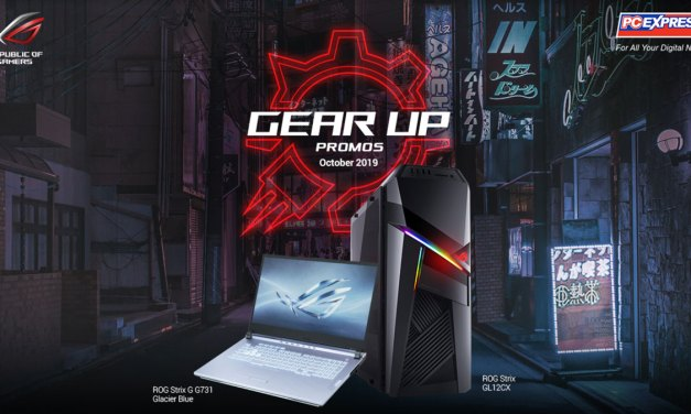 Gear-up with ASUS ROG and PC Express this October 2019