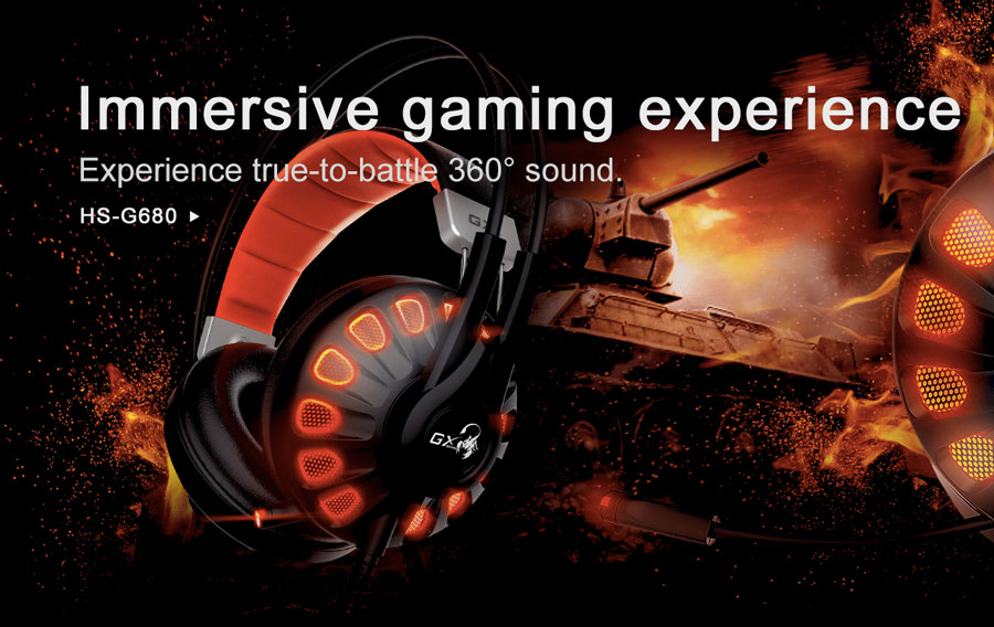 Genius Unveils The HS-G680 7.1 Gaming Headset