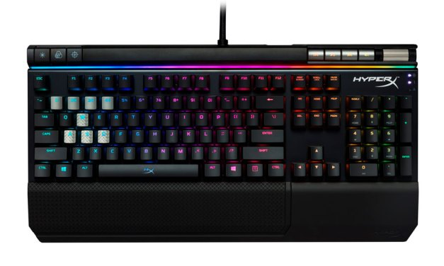HyperX Alloy Elite RGB Gaming Keyboard Now Available