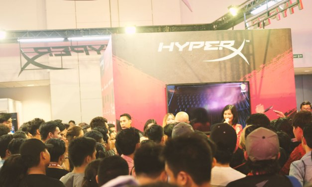 HyperX Booth Coverage at ESGS 2017