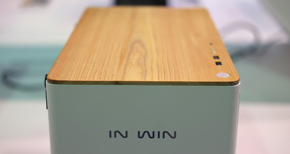 In Win Shows Off Wood Panel Cases and More at COMPUTEX