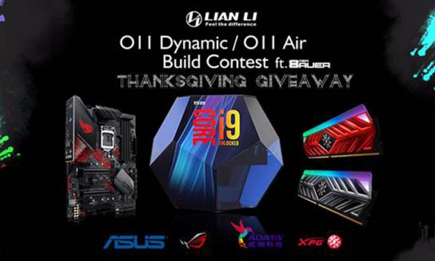 Lian Li Announces Thanksgiving Build Contest 2018