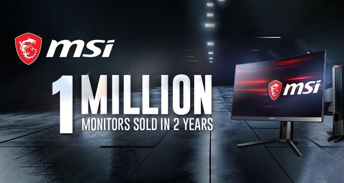 MSI Celebrates its 1 Millionth Gaming Monitor Milestone
