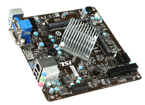 MSI Outs Bay Trail Based Mini-ITX J1800I Motherboard