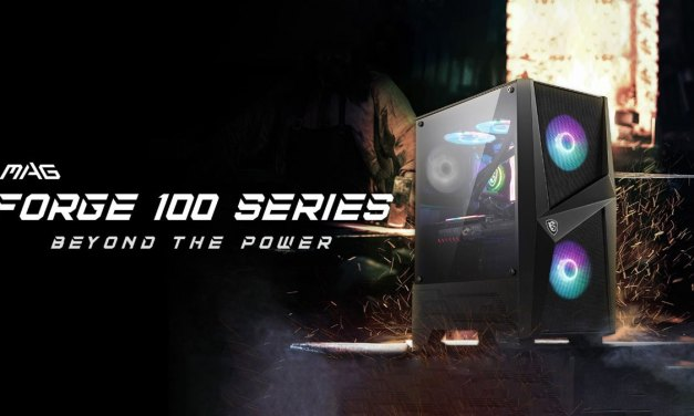 MSI Announces MAG Force 100 Series Chassis
