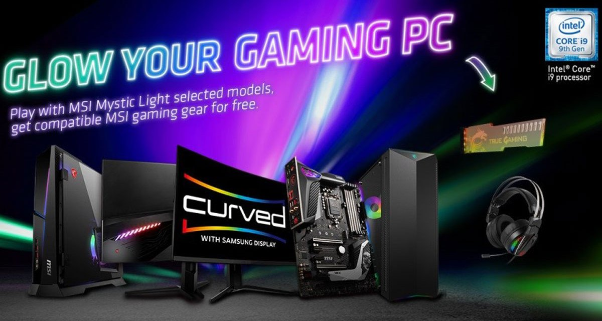 MSI Revamps Mystic Light Microsite with a Lighting Software Update
