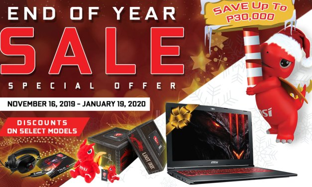 Take a Look at the MSI Gaming Year Ender Sale of 2019