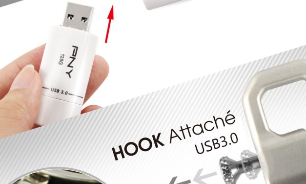 PNY Releases Hook Attaché and Wave Turbo USB Drives