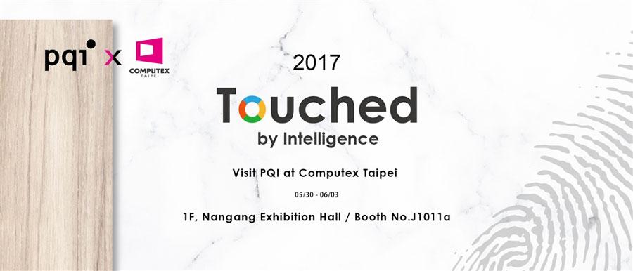 "PQI ""Touched by Intelligence"" COMPUTEX 2017"