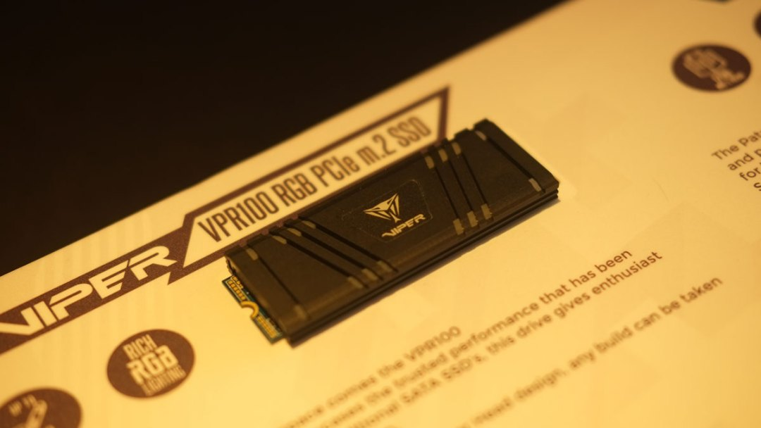 Patriot VPR100 P200 SSD Computex (1)