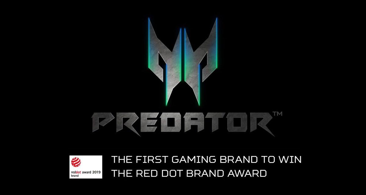 Acer Predator Wins the 2019 Red Dot Brand Award