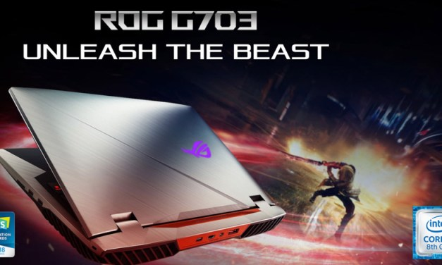 ASUS ROG Chimera G703 with Intel Core i9 Now Available