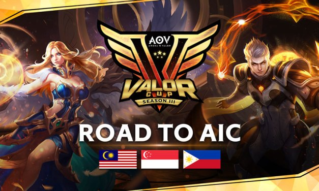 AOV International Championship Starts with Valor Cup Season 3